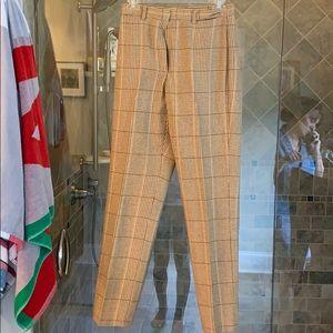 Women's checkered dress pants size 6 petite